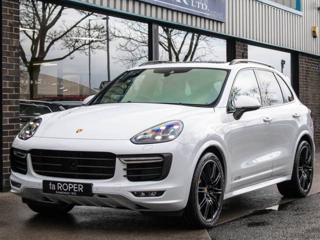 Porsche Cayenne 3.6 V6 GTS Tiptronic S 440ps Estate Petrol Carrara White Metallic at fa Roper Ltd Bradford