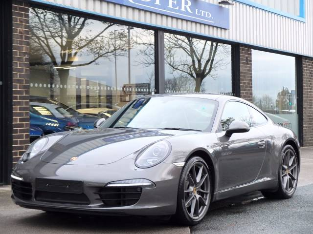 Porsche 911 991 Carrera 3.4 PDK Coupe Petrol Agate Grey Metallic at fa Roper Ltd Bradford