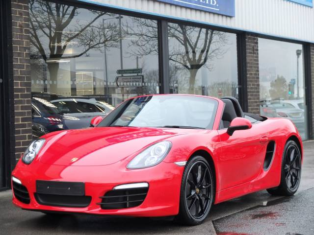 Porsche Boxster 2.7 PDK Convertible Petrol Guards Red at fa Roper Ltd Bradford