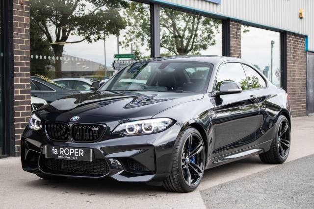 BMW M2 M2 3.0 DCT (LCI Facelift) Coupe Petrol Black Sapphire Metallic at fa Roper Ltd Bradford
