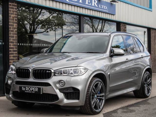 BMW X5 M 4.4 xDrive X5 M Auto Estate Petrol Donnington Grey Metallic at fa Roper Ltd Bradford