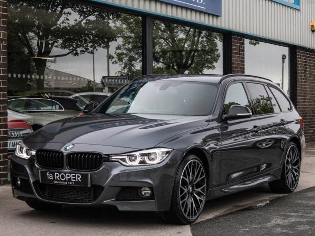 BMW 3 Series 3.0 335d xDrive M Sport Plus Pack Touring Auto Estate Diesel Mineral Grey Metallic at fa Roper Ltd Bradford