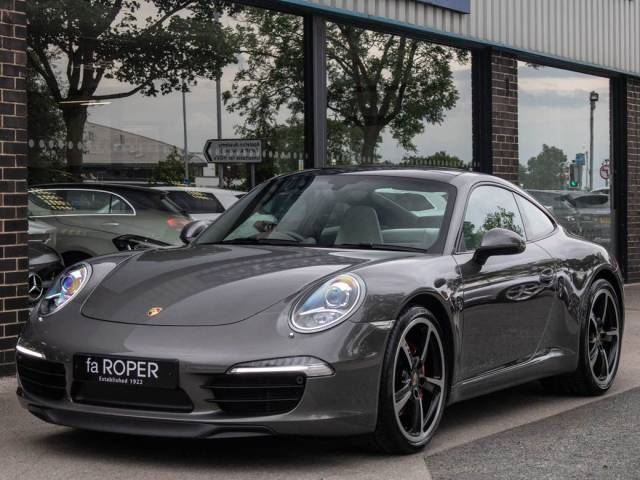 Porsche 911 991 Carrera 3.8 S PDK Coupe Petrol Agate Grey Metallic at fa Roper Ltd Bradford