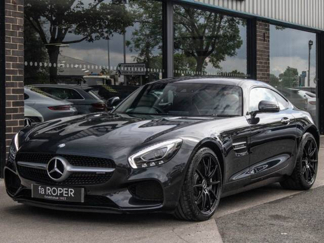 Mercedes-Benz AMG GT 4.0 Premium Speedshift DCT Coupe Petrol Magnetite Black Metallic at fa Roper Ltd Bradford