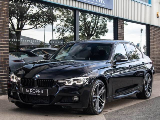 BMW 3 Series 2.0 320d xDrive M Sport Shadow Edition Auto Saloon Diesel Black Sapphire Metallic at fa Roper Ltd Bradford