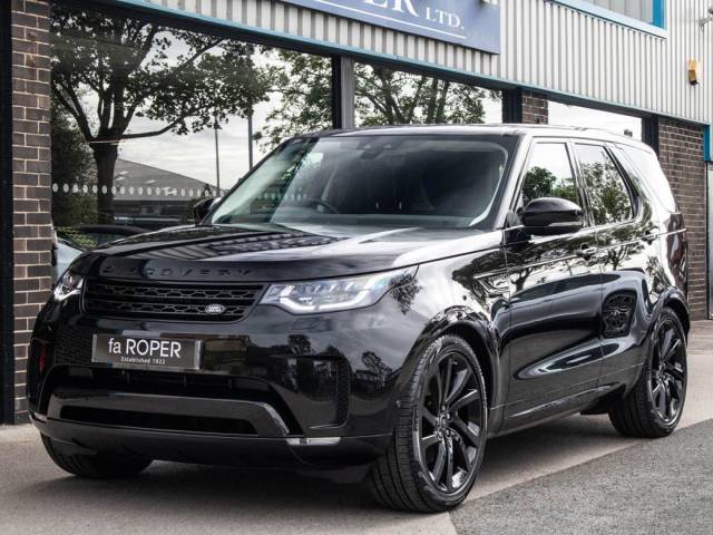 Land Rover Discovery 3.0 SDV6 306 HSE Commercial Auto - ( £50000 plus vat ) Commercial Diesel Santorini Black Metallic at fa Roper Ltd Bradford