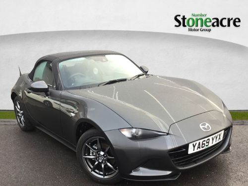 Mazda MX-5 1.5 SKYACTIV-G Sport Nav+ Convertible 2dr Petrol Manual (132 ps) Convertible Petrol Machine Gray
