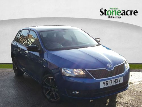 Skoda Rapid Spaceback 1.2 TSI SE Sport Spaceback 5dr Petrol Manual (s/s) (111 g/km, 108 bhp) Hatchback Petrol Blue