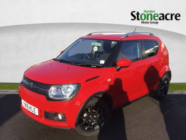 Suzuki Ignis 1.2 Dualjet Adventure Hatchback 5dr Petrol (90 ps) Hatchback Petrol Red