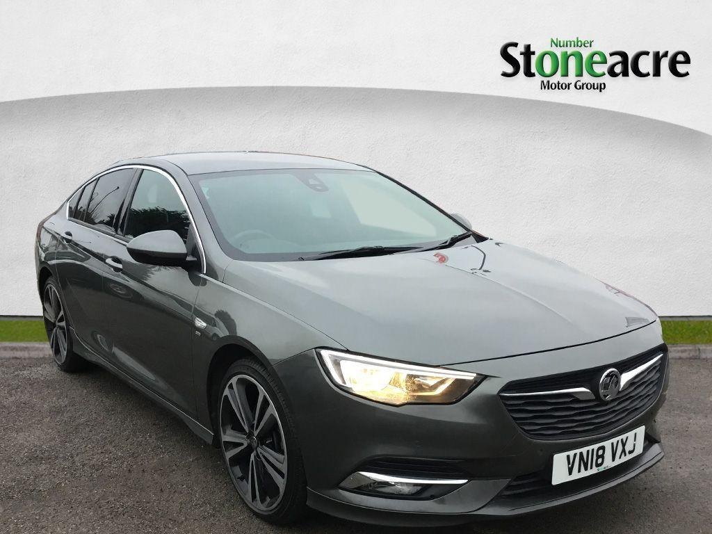 Vauxhall Insignia 2.0 Turbo D BlueInjection SRi VX Line Nav Grand Sport 5dr Diesel Auto (s/s) (170 ps) Hatchback Diesel Grey