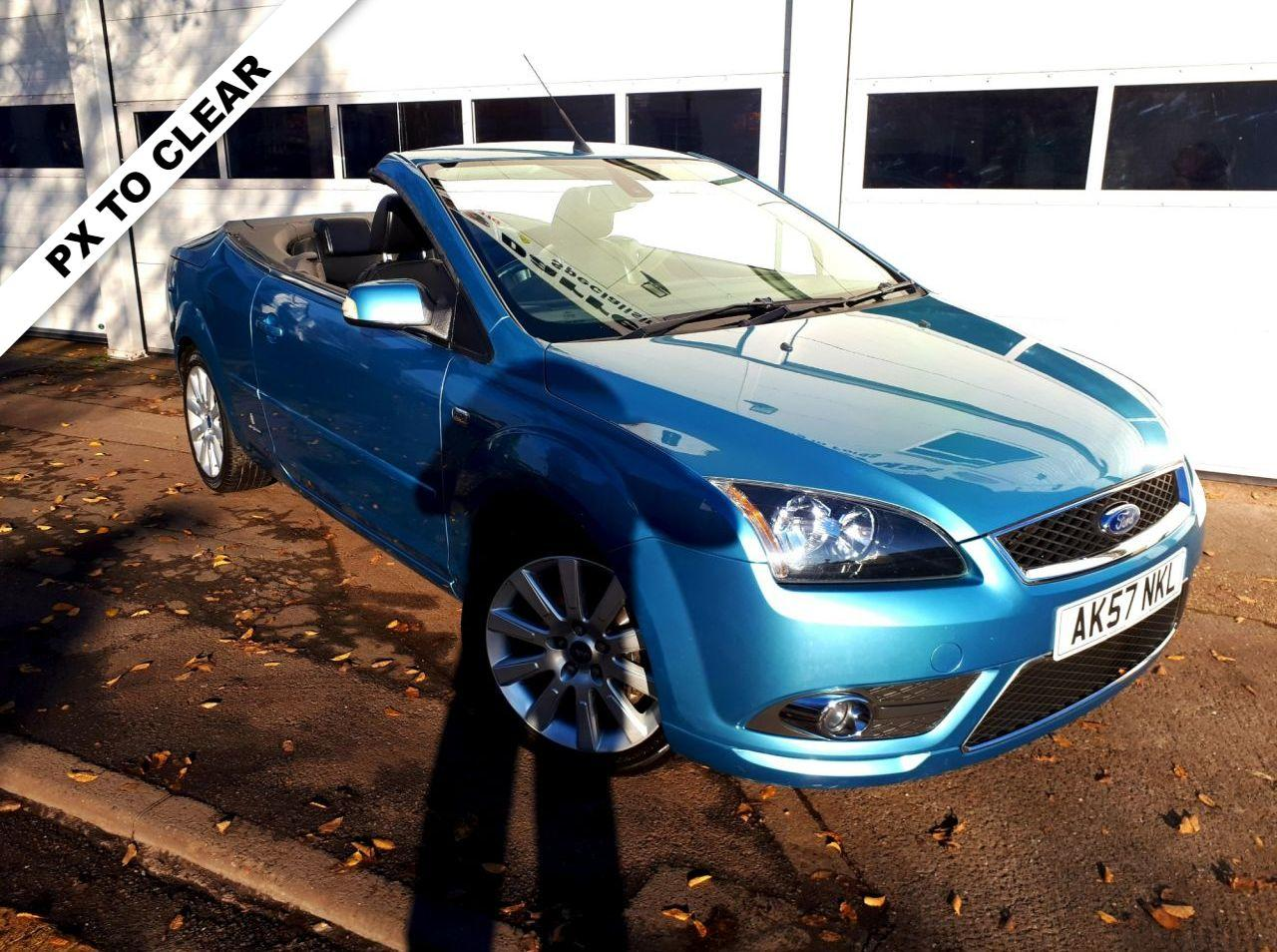 Ford Focus Cc 2.0 TDCI CC3 2d CONVERTIBLE 135 BHP. ONLY 62,000 MILES Convertible Diesel BLUE