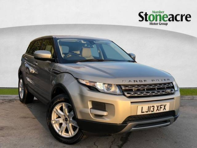 Land Rover Range Rover Evoque 2.2 ED4 Pure SUV 5dr Diesel Manual 2WD (133 g/km, 150 bhp) SUV Diesel Gold
