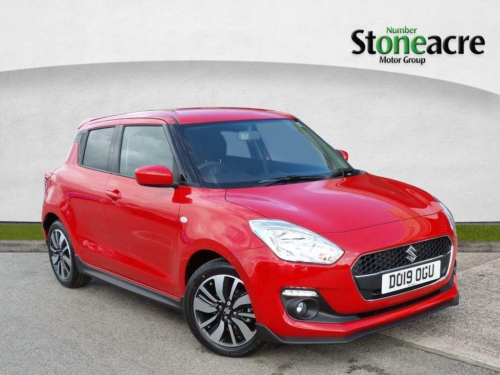 Suzuki Swift 1.2 Dualjet Attitude Hatchback 5dr Petrol (s/s) (90 ps) Hatchback Petrol Red