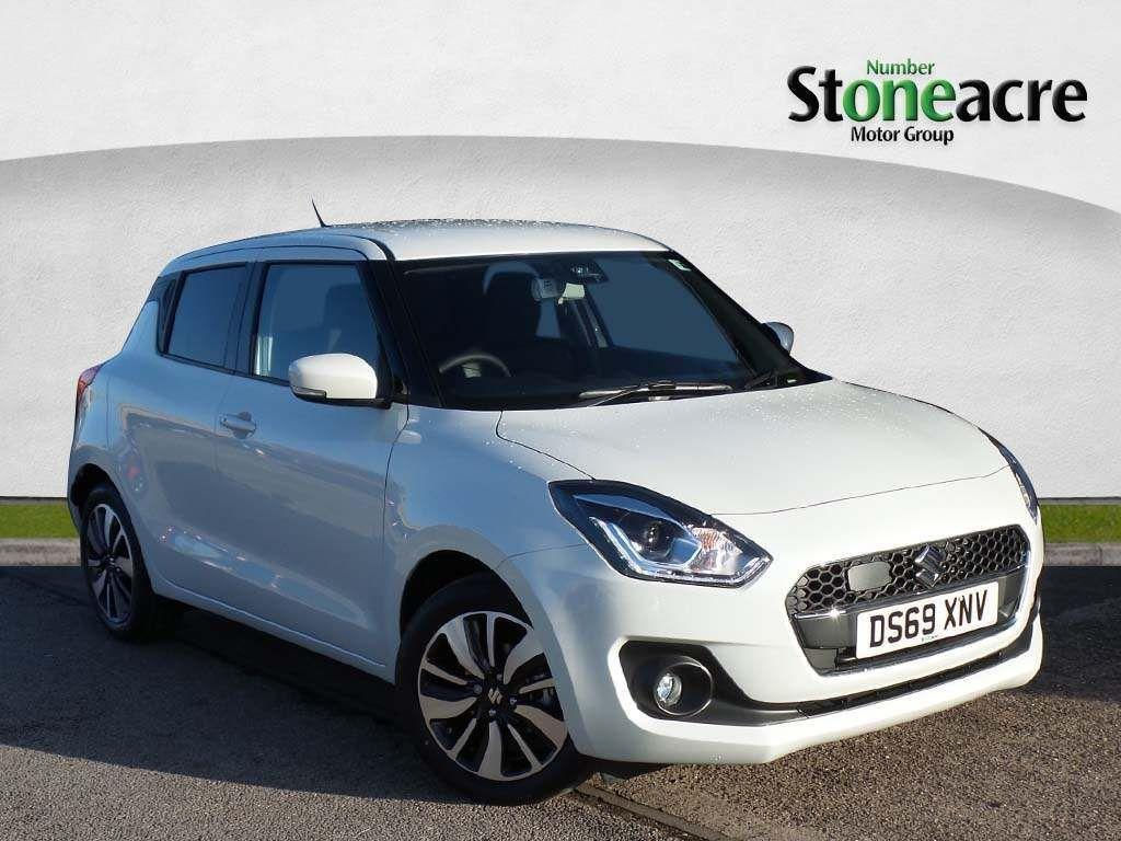 Suzuki Swift 1.0 Boosterjet SHVS SZ5 (s/s) 5dr Hatchback Hybrid White