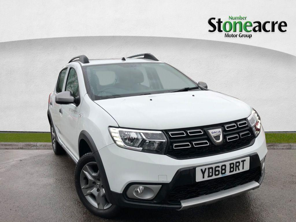 Dacia Sandero Stepway 0.9 TCe Comfort Stepway 5dr Petrol Manual (s/s) (90 ps) Hatchback Petrol White