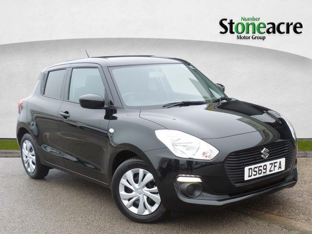 Suzuki Swift 1.2 Dualjet SZ3 Hatchback 5dr Petrol Manual (s/s) (90 ps) Hatchback Petrol Black