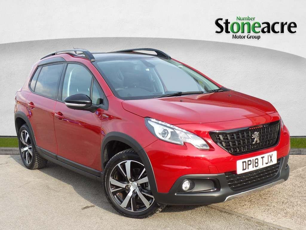 Peugeot 2008 1.2 PureTech GT Line SUV 5dr Petrol EAT (s/s) (110 ps) SUV Petrol Red