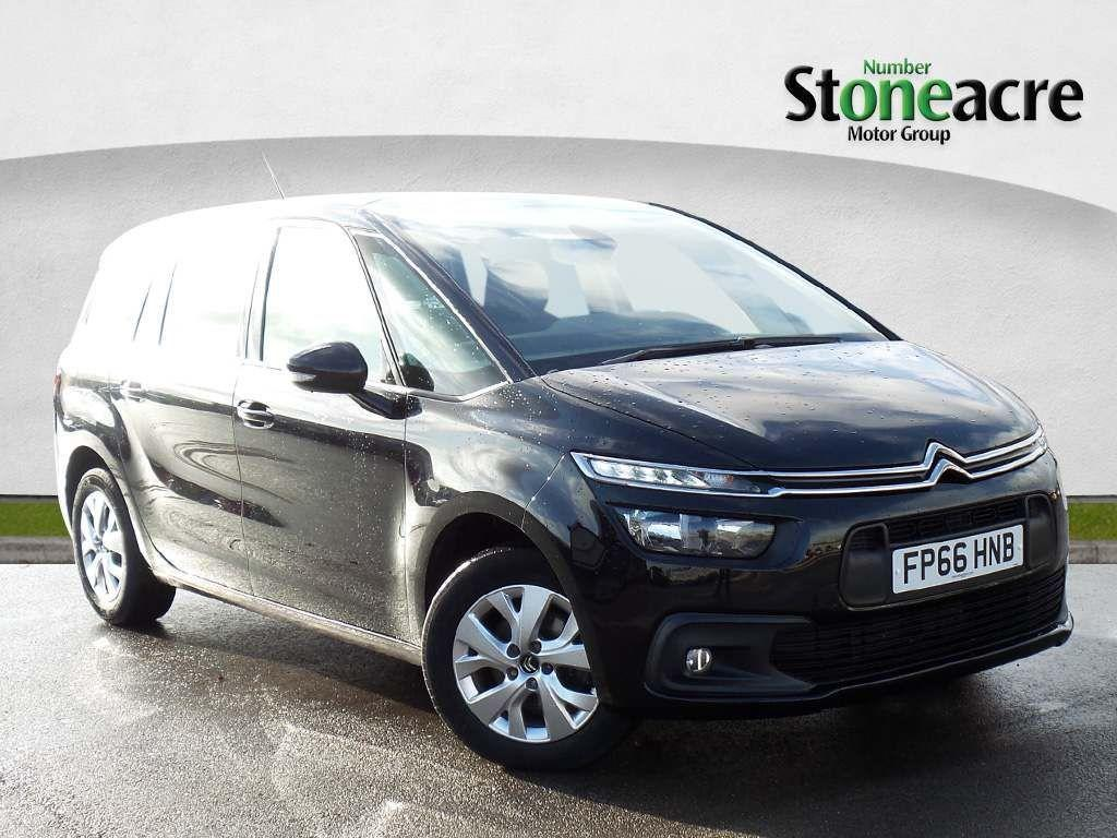 Citroen Grand C4 Picasso 1.6 BlueHDi Touch Edition MPV 5dr Diesel EAT6 (s/s) (120 ps) MPV Diesel Black