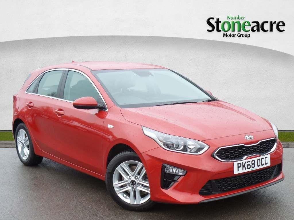 Kia Ceed 1.0 T-GDi ECO 2 Hatchback 5dr Petrol (s/s) (118 bhp) Hatchback Petrol Red