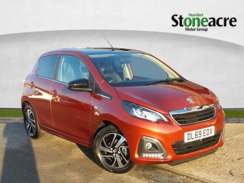Peugeot 108 1.0 Allure Hatchback 5dr Petrol (s/s) (72 ps) Hatchback Petrol Red