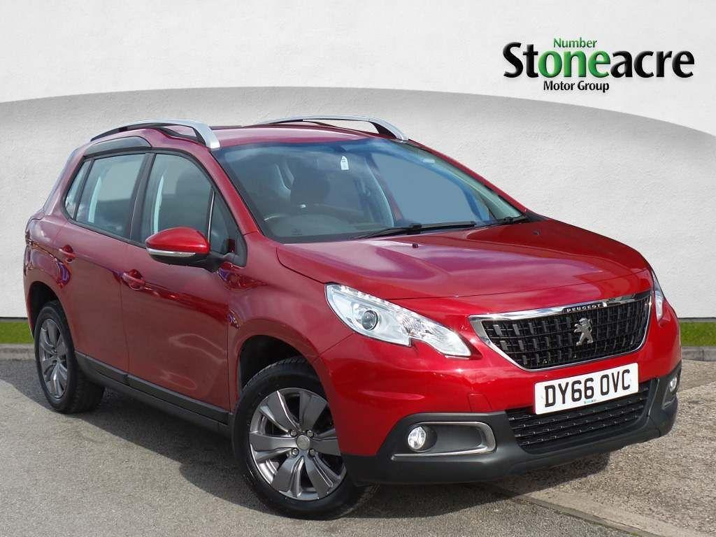 Peugeot 2008 1.6 BlueHDi Active SUV 5dr Diesel (100 ps) SUV Diesel Red