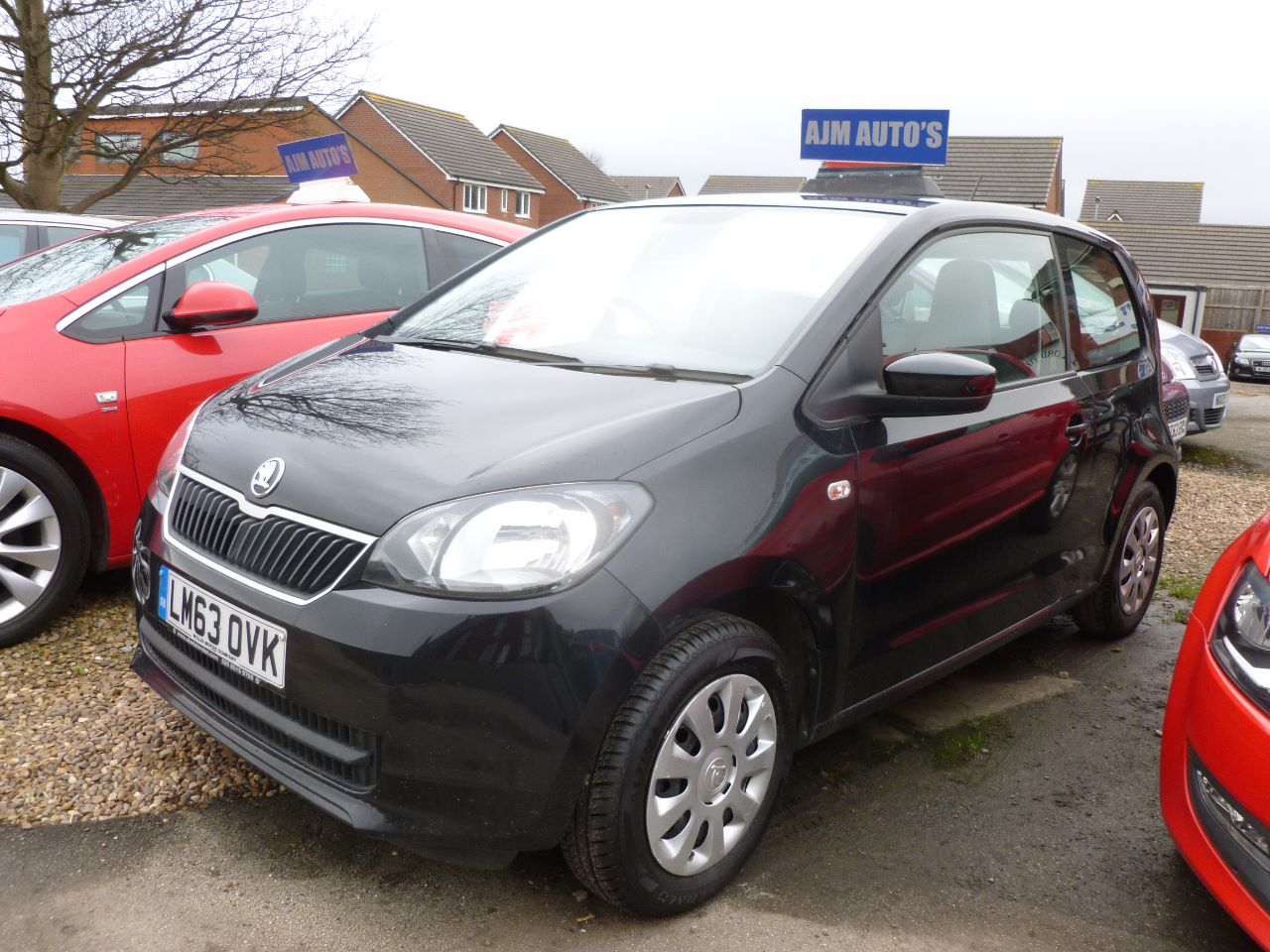 Skoda Citigo 1.0 MPI SE 3dr Hatchback Petrol Black at AJM Autos Leeds Leeds