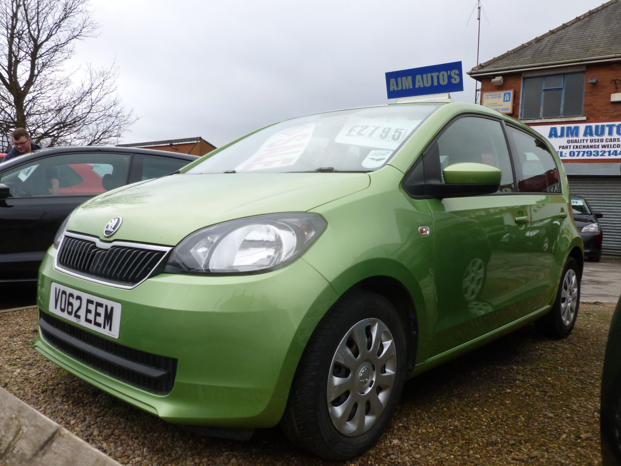 Skoda Citigo 1.0 MPI GreenTech SE 5dr Hatchback Petrol Green at AJM Autos Leeds Leeds