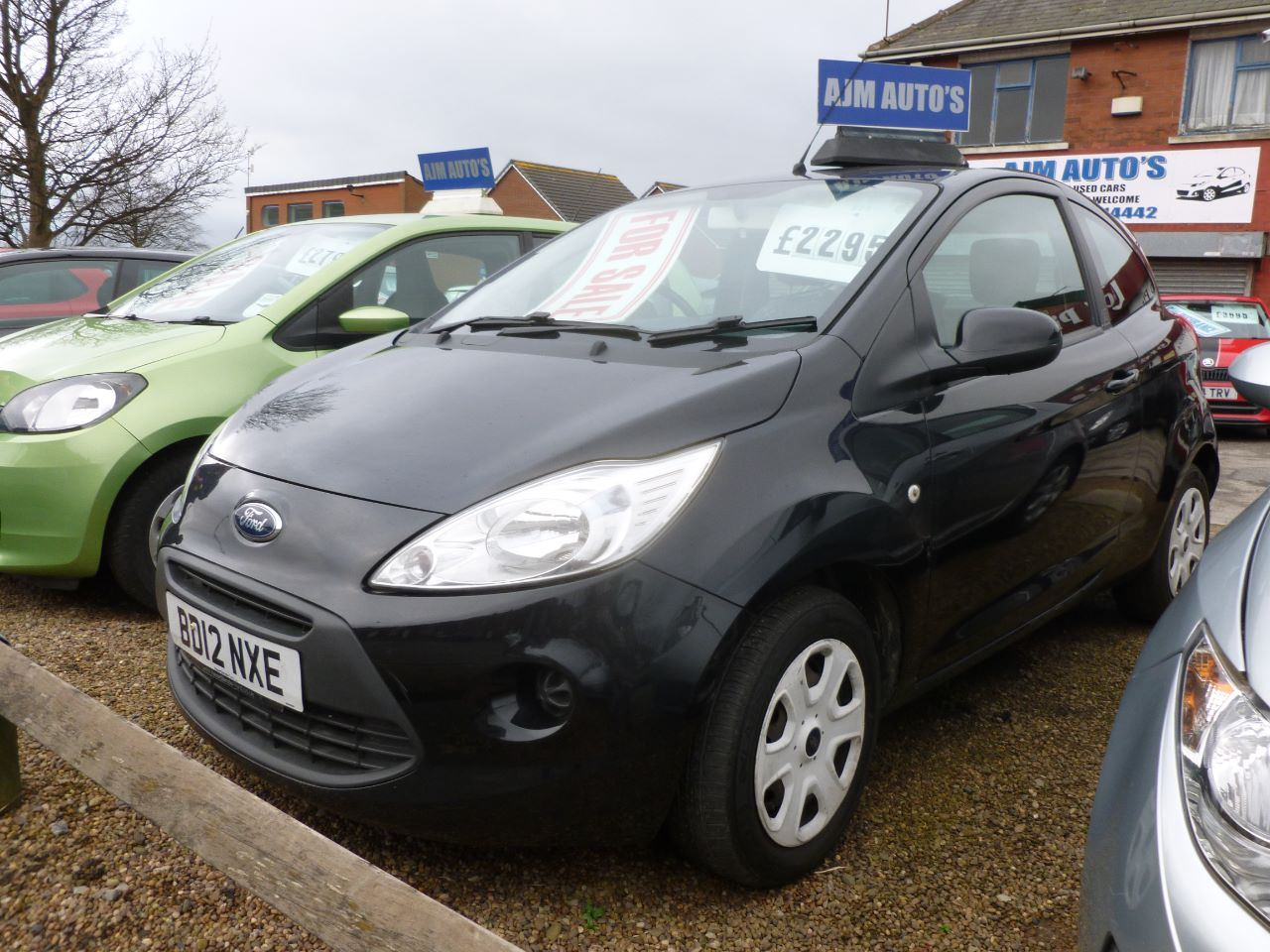 Ford Ka 1.2 Edge 3dr [Start Stop] Hatchback Petrol Black at AJM Autos Leeds Leeds