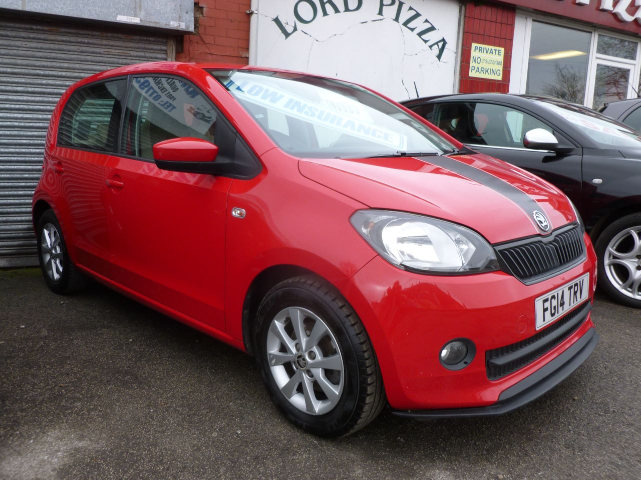 Skoda Citigo 1.0 MPI 75 GreenTech Elegance 5dr Hatchback Petrol Red at AJM Autos Leeds Leeds