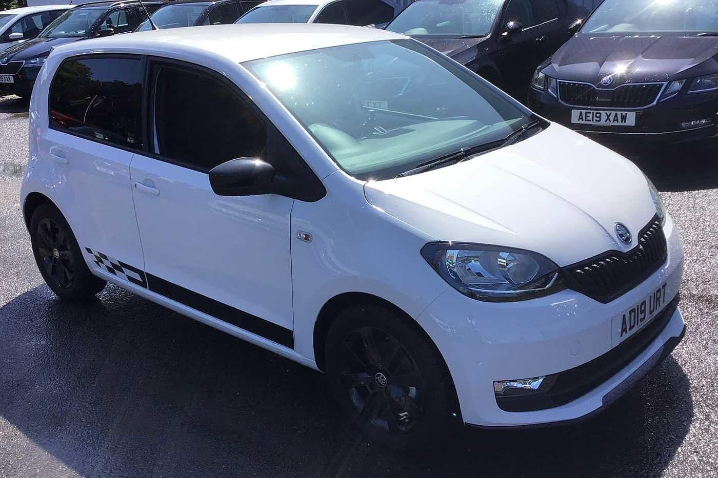 Skoda Citigo 1.0 (60ps) Monte Carlo GreenTech 5Dr Hatch Hatchback Petrol Candy White
