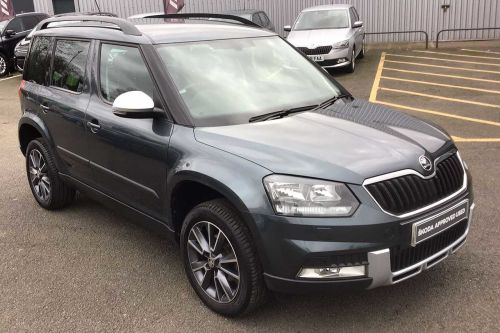 Skoda Yeti 1.2 TSI (110PS) SE Drive DSG 5-Dr Estate Petrol Quartz Grey