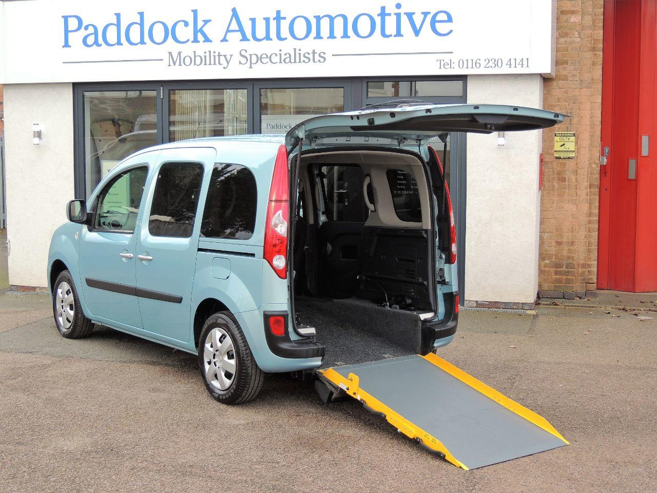 Renault Kangoo 1.6 Expression Auto Disabled Wheelchair Adapted Vehicle WAV Wheelchair Adapted Petrol Blue Mica