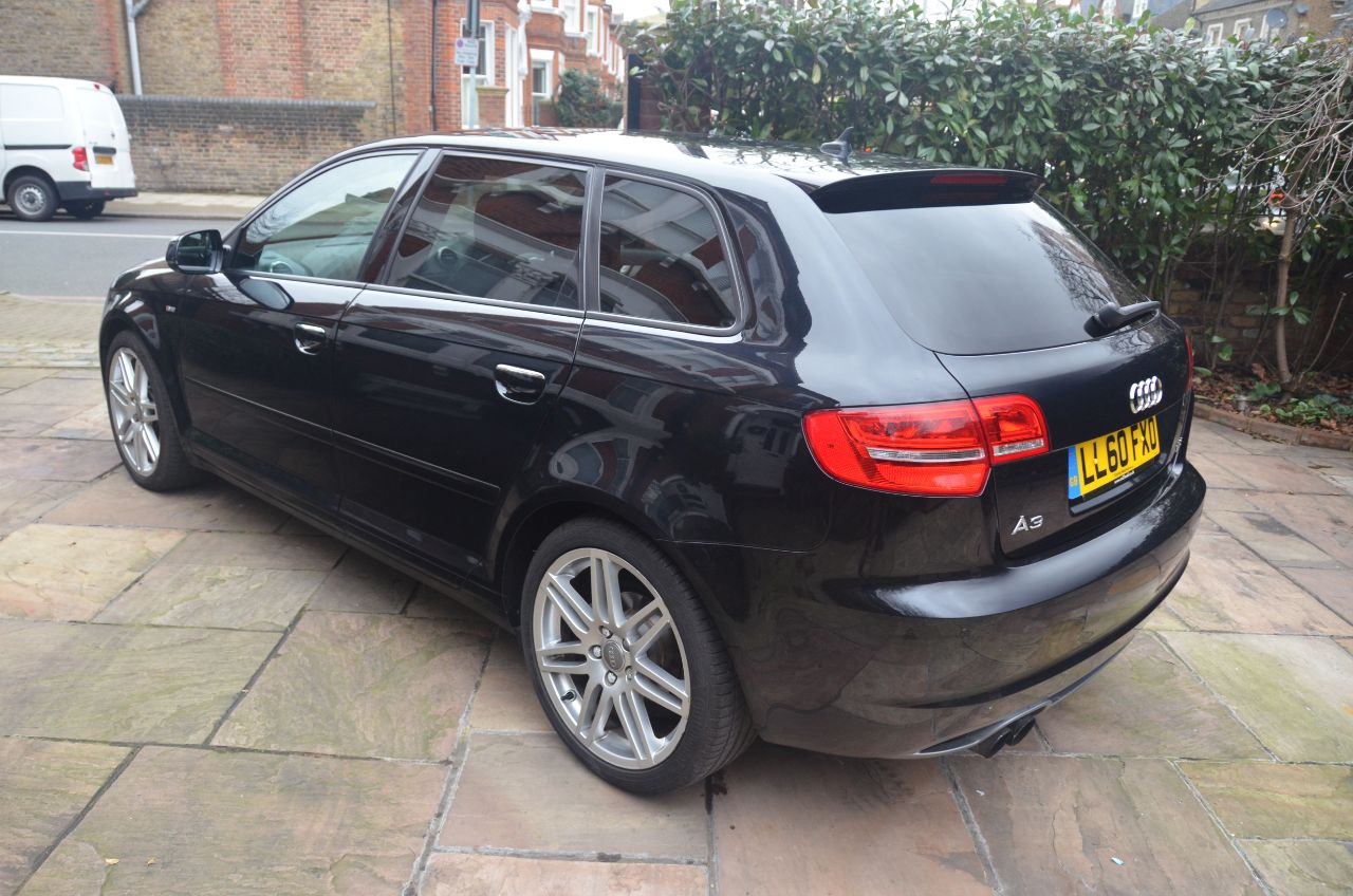 used audi a3 1 8 tfsi s line 5dr s tronic for sale in london london rupert goalen. Black Bedroom Furniture Sets. Home Design Ideas