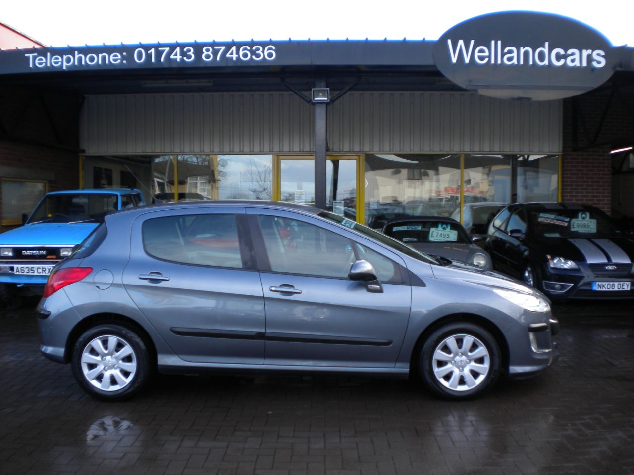 Peugeot 308 1.6 HDi 90 S Diesel 5dr 5 Speed Manual, A/C, Bluetooth, Very Economical Hatchback Diesel Grey at Welland Cars Shrewsbury