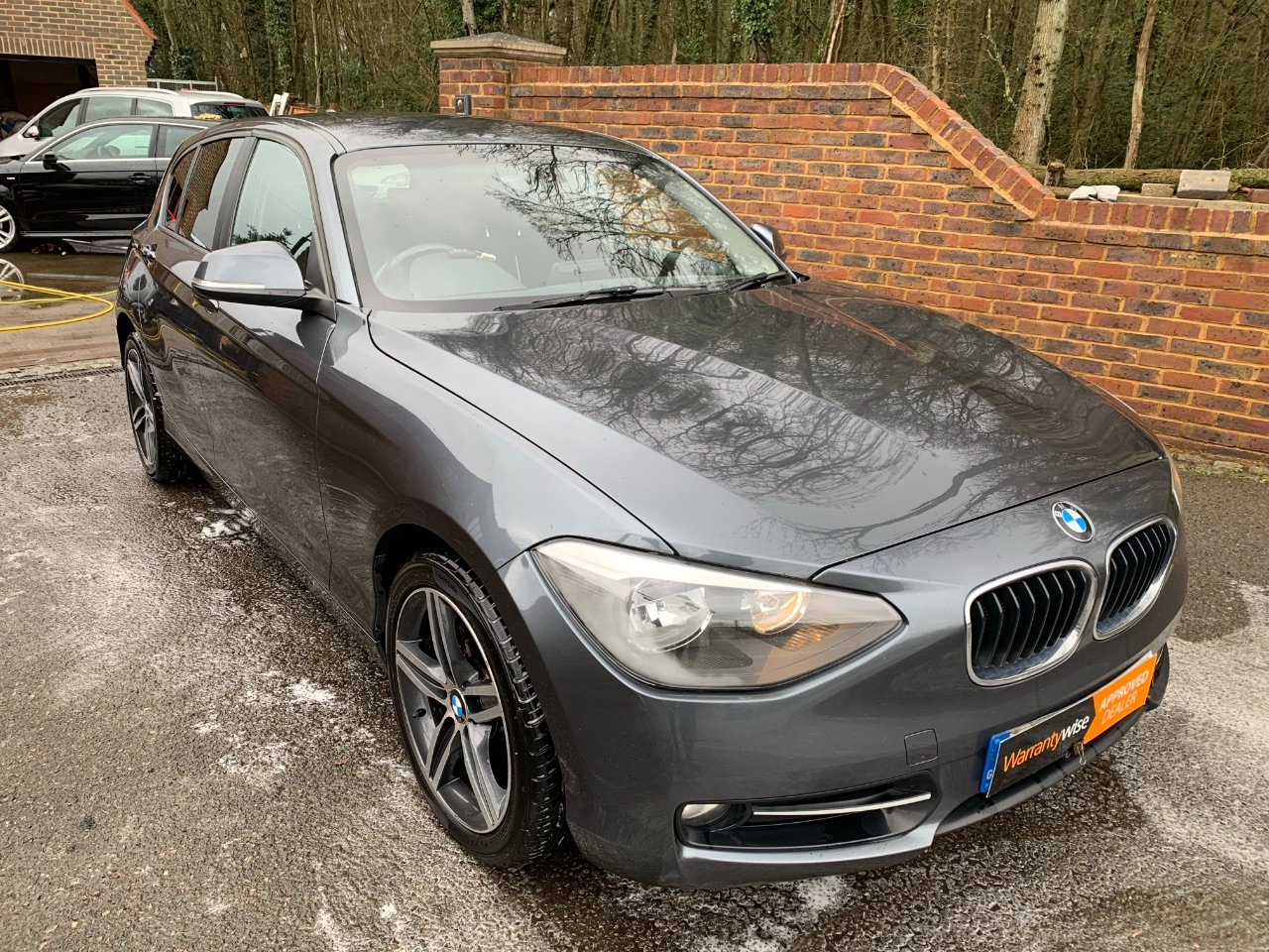 BMW 1 Series 2.0 116d Sport 5dr Hatchback Diesel Grey at A Touch of Class Kingsnorth