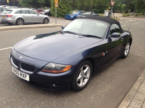 BMW Z Series 2.0 Z4 SE ROADSTER Convertible Petrol Blue