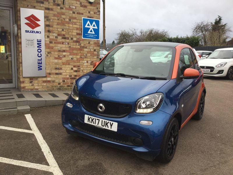 Smart Fortwo Coupe 0.9T Prime Sport (s/s) 2dr Coupe Petrol Orange