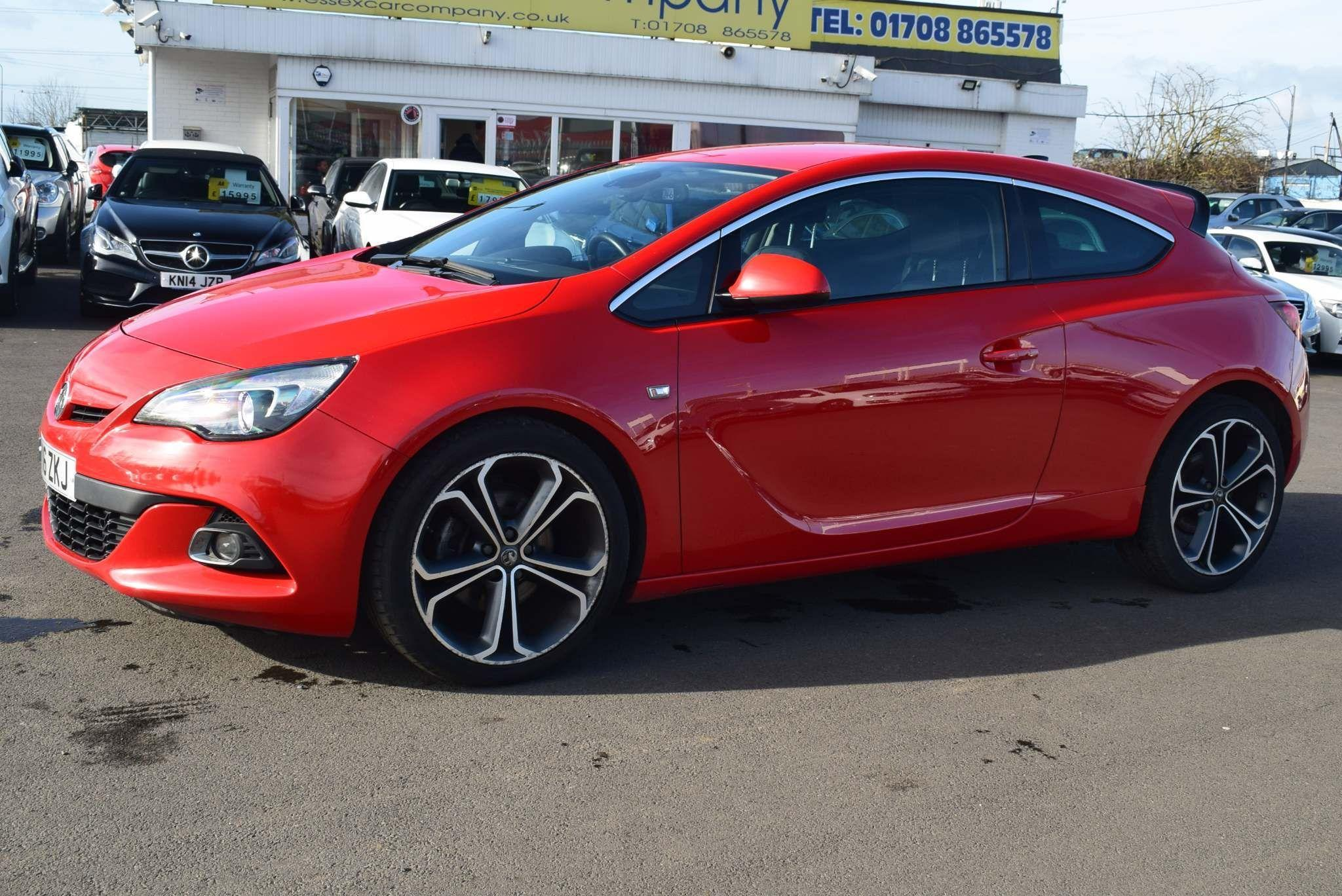 Vauxhall Astra GTC 1.6 CDTi ecoFLEX Limited Edition (s/s) 3dr Coupe Diesel Red