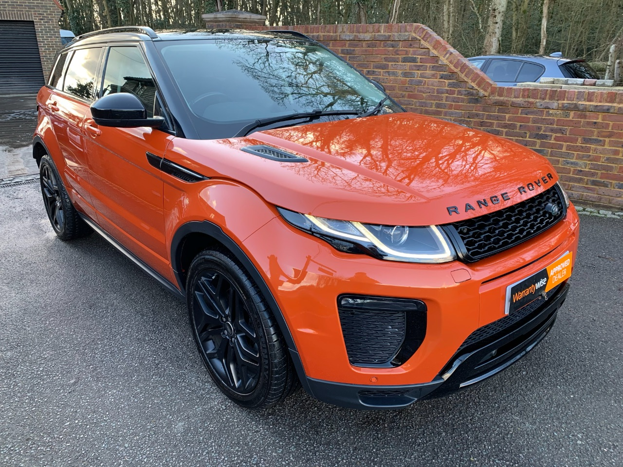 Land Rover Range Rover Evoque 2.0 TD4 HSE Dynamic 5dr Auto + Black Pack + Pan Roof Estate Diesel Orange at A Touch of Class Kingsnorth