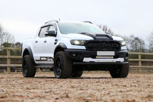 Ford Ranger 2.0 Seeker Raptor Bi-turbo 10 speed with Upgraded Raptor style Bumper Pick Up Diesel White