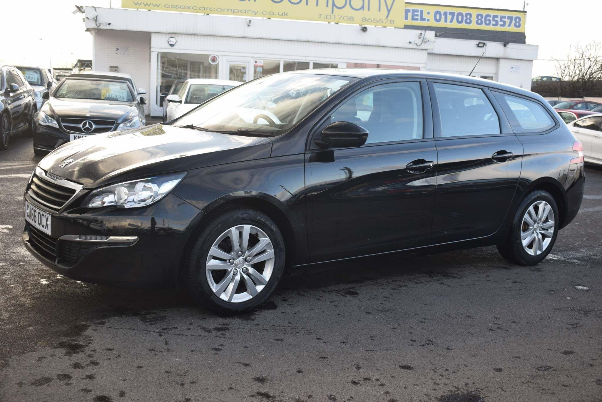 Peugeot 308 SW 1.6 BlueHDi Active EAT6 (s/s) 5dr Auto Estate Diesel Black