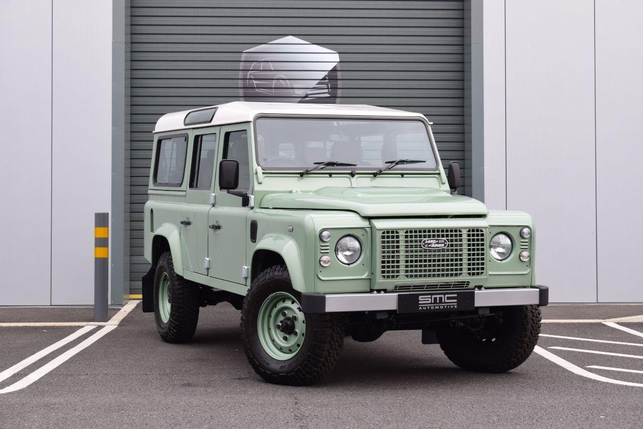 Land Rover Defender 2.2 110 Station Wagon TDCi Four Wheel Drive Diesel Green
