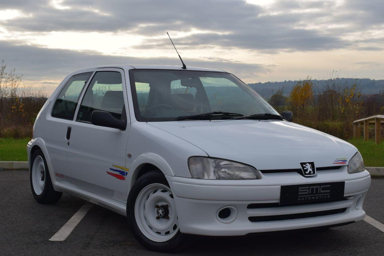 Peugeot 106 1.6 106 Rallye S2 Totally original and Immaculate Hatchback Petrol White