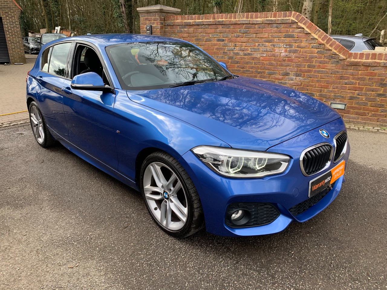 BMW 1 Series 1.5 116d M Sport 5dr Hatchback Diesel Blue at A Touch of Class Kingsnorth
