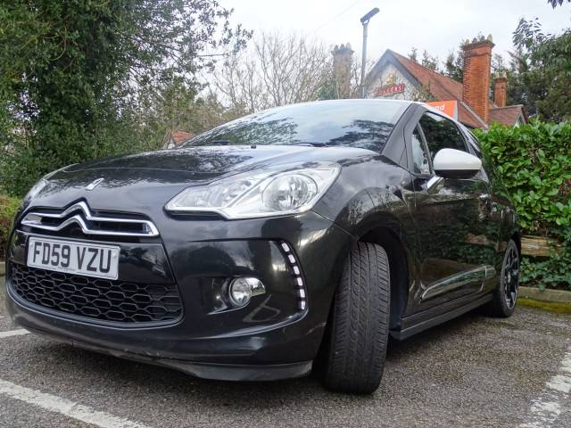 Citroen DS3 1.6 THP 16V DSport 3dr Hatchback Petrol Black