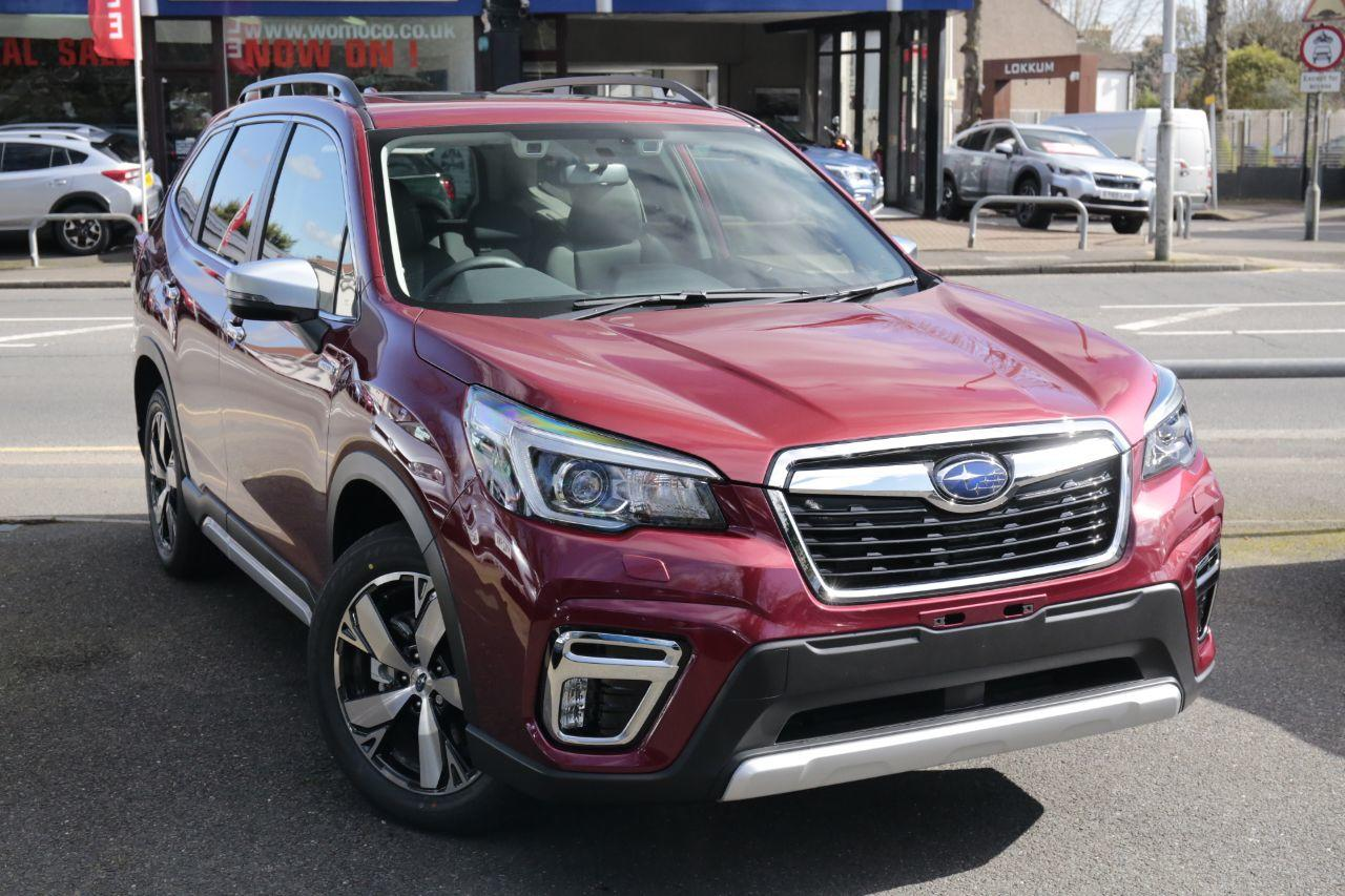 Subaru Forester 2.0i e-Boxer XE Premium 5dr Lineartronic Estate Petrol / Electric Hybrid Red