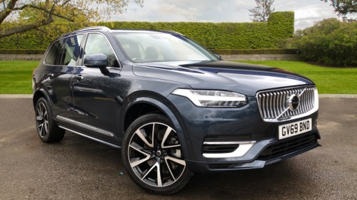 Volvo XC90 0.0 T8 Hybrid Inscription Pro AWD 4x4 Petrol / Electric Hybrid Denim Blue