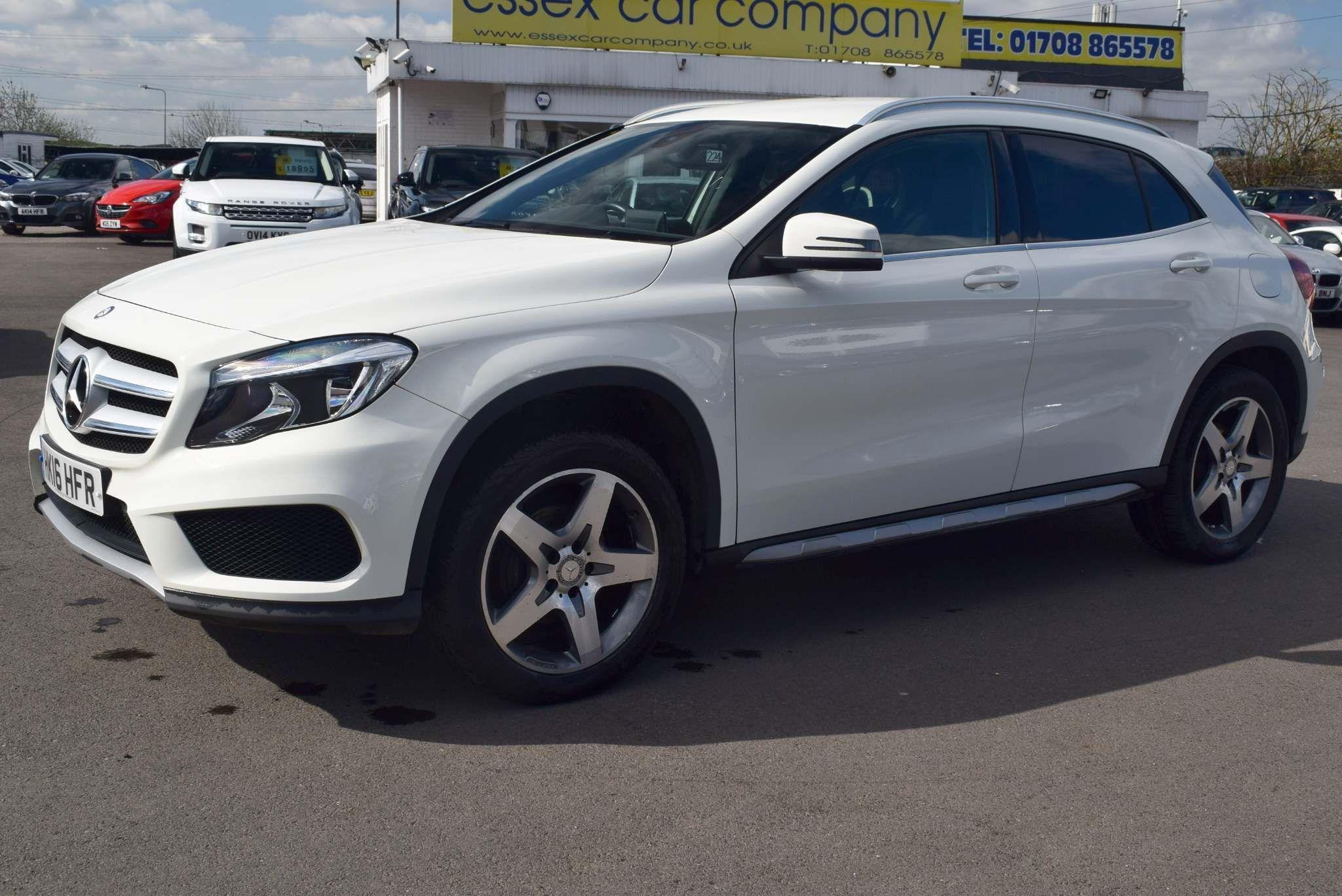 Mercedes-Benz GLA Class 2.1 GLA200 AMG Line 7G-DCT (s/s) 5dr Auto SUV Diesel White