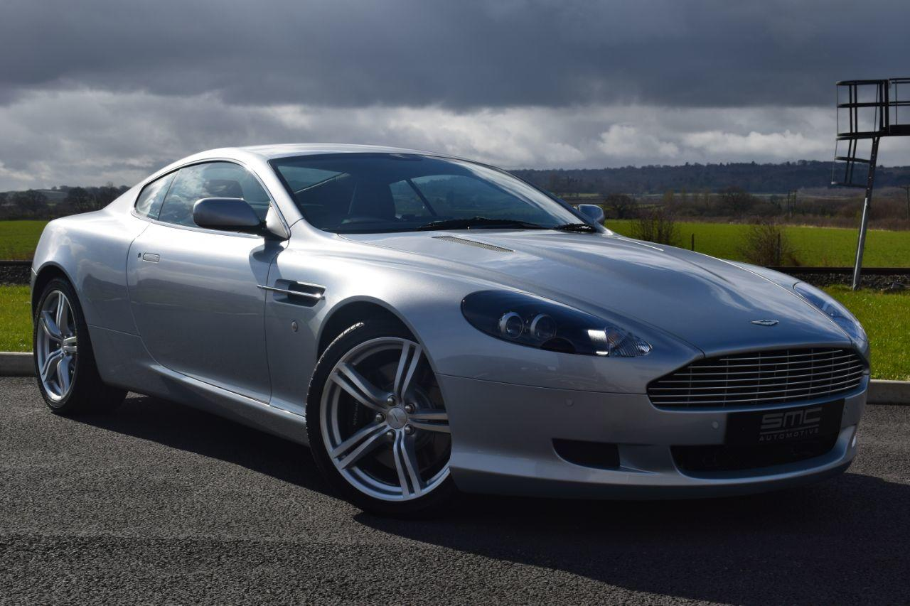 Aston Martin DB9 6.0 1 Owner 346 Miles Coupe Petrol Silver