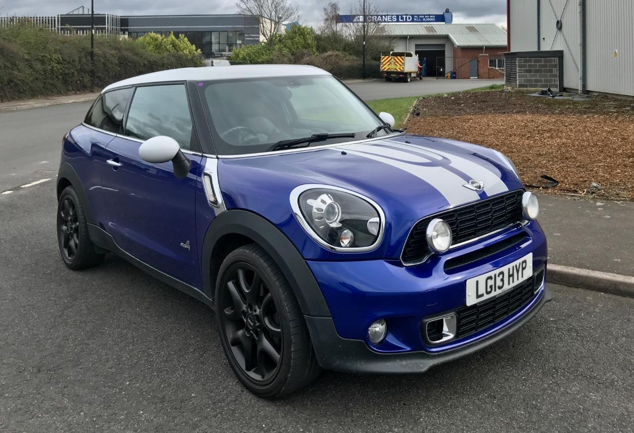 Mini Paceman 1.6 Cooper S ALL4 3dr Coupe Petrol Blue